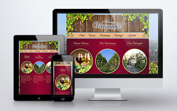 weingut veitsmuehle website